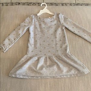 Gymboree Polka Dot Sweater Dress 5t